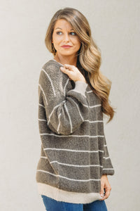 Rachel Sweater - Brown