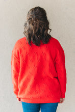 Load image into Gallery viewer, Dara Sweater - Tomato Red