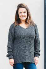 Load image into Gallery viewer, Piper Popcorn Sweater - Charcoal