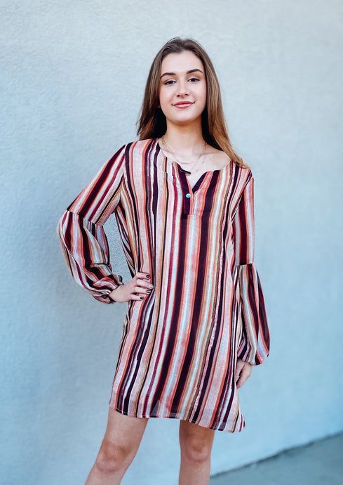 Zoe Stripe Dress