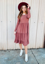 Load image into Gallery viewer, Makenna Midi Dress - Dark Mauve
