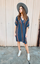 Load image into Gallery viewer, Felicity Boho Printed Dress