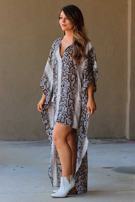 BuddyLove - Derby High-Low Maxi Dress - Kenya - ellies-clothing-boutique