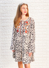 Load image into Gallery viewer, Savanna Dress - Taupe Leopard
