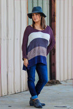 Load image into Gallery viewer, Caroline Color Block Sweater - ellies-clothing-boutique