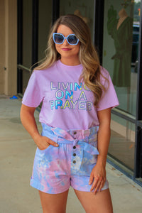 Jadelynn Brooke: Living on a Prayer T-Shirt