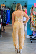 Load image into Gallery viewer, Arabella Jumpsuit - Mustard - ellies-clothing-boutique