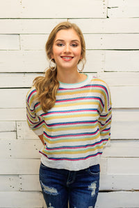 Charlee Cropped Sweater