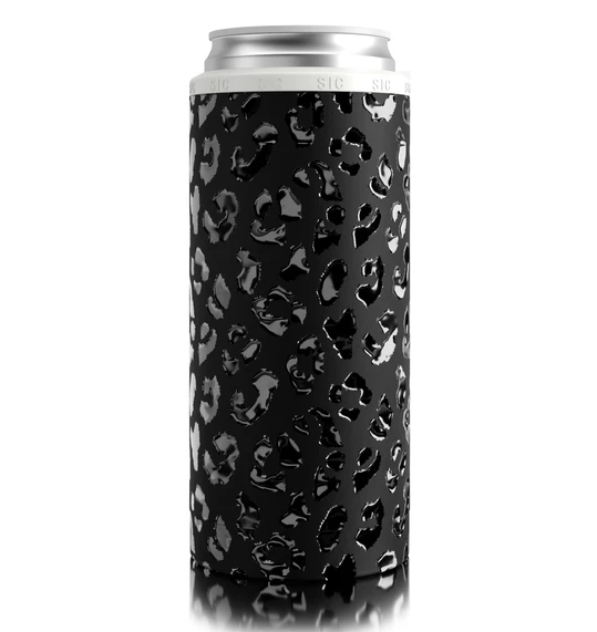 SIC Slim Can Cooler - Leopard Eclipse