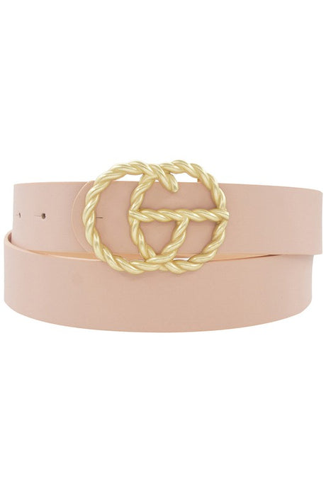 Giselle Belt - Blush