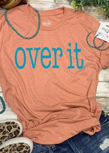 Texas True Threads:: Over It