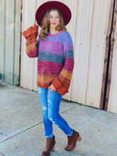 Load image into Gallery viewer, Stella Wide Sleeve Sweater - Multi