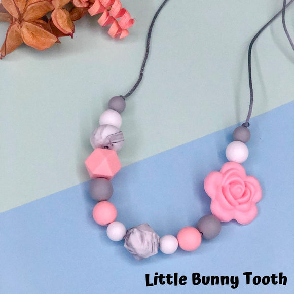 Silicone Teething Necklace - Daisy