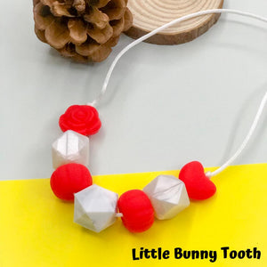 Silicone Teething Necklace - Zia
