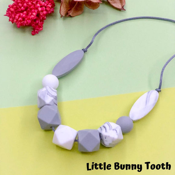 Silicone Teething Necklace - Hanna