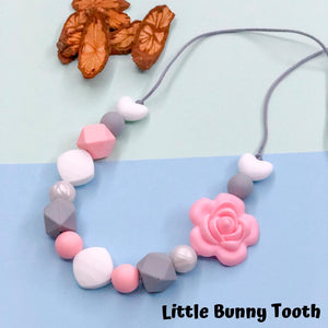 Silicone Teething Necklace - Norah