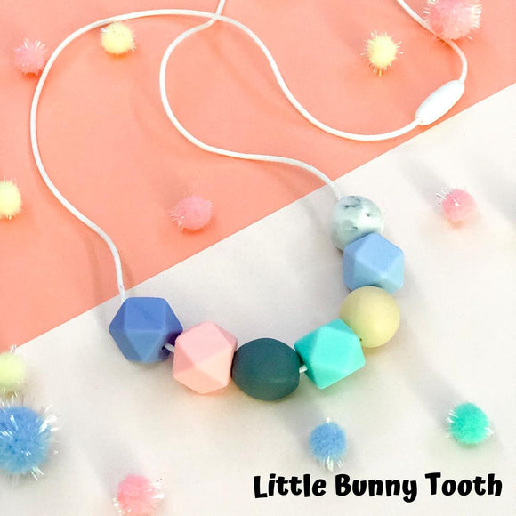 Silicone Teething Necklace - Emily
