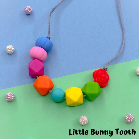 Silicone Teething Necklace - Ava