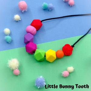 Silicone Teething Necklace - Riley