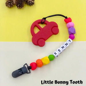 Pacifier Clip Set - Red Car (RC001)