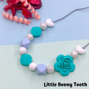 SIlicone Teething Necklace - Leah