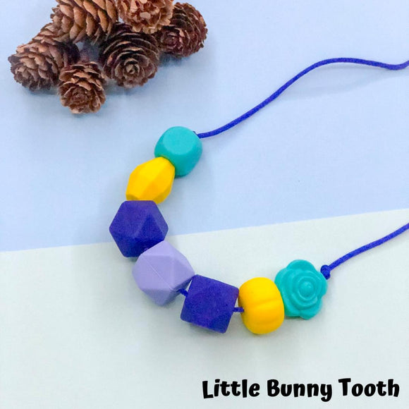 Silicone Teething Necklace - Eleanor