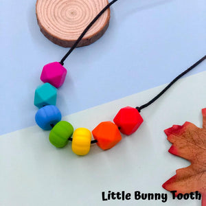 Silicone Teething Necklace - Violet