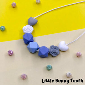 Silicone Teething Necklace - Claire