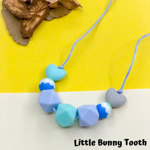 Silicone Teething Necklace - Megan