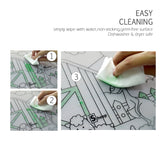 Reusable Silicone Coloring Mat - Animal Farm
