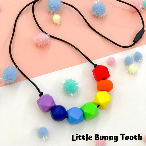 Silicone Teething Necklace - Olivia
