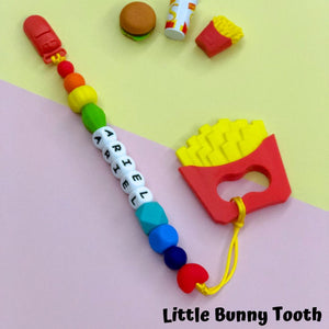 Pacifier Clip Set - French Fries (FF001)