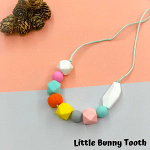 Silicone Teething Necklace - Roxy