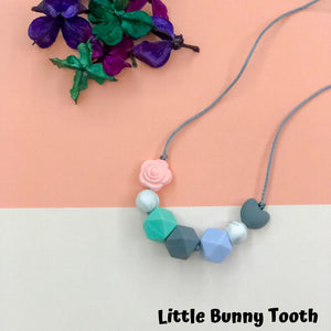 Silicone Teething Necklace - Quiana