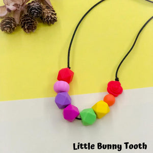 Silicone Teething Necklace - Paulette