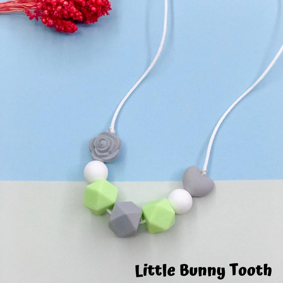 Silicone Teething Necklace - Ginger