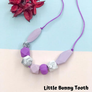 Silicone Teething Necklace - Candy