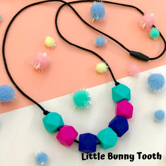 Silicone Teething Necklace - Isabella