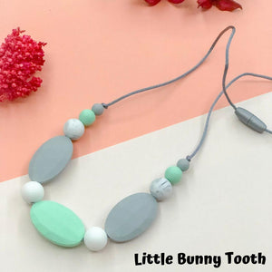 Silicone Teething Necklace - Lily