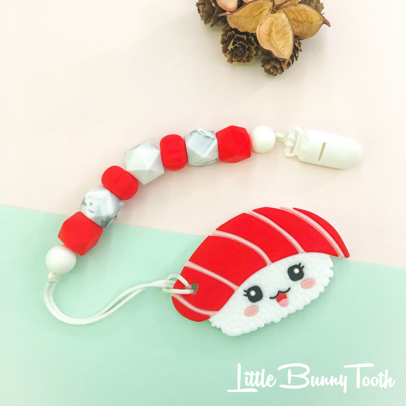 Pacifier Clip Set - Maguro Sushi Teether (MST001)