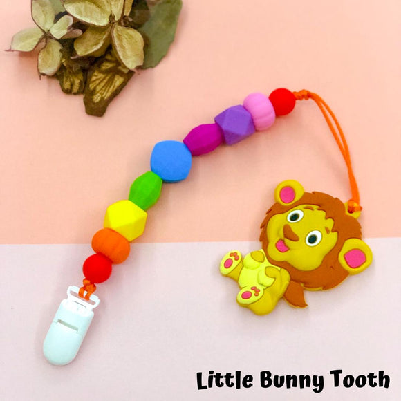 Pacifier Clip Set - Lion (L001)