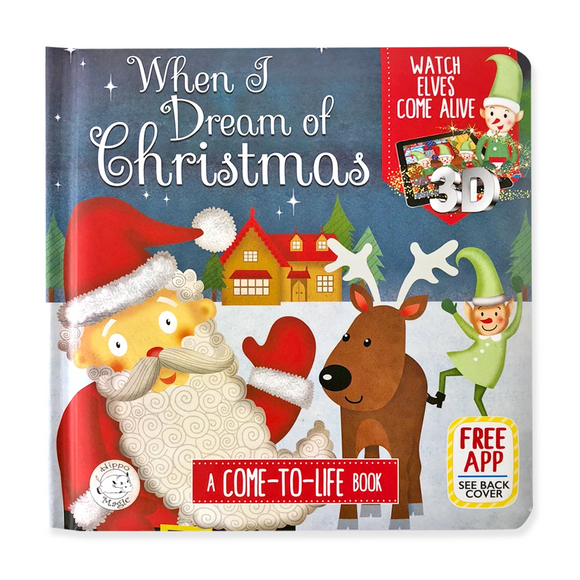 Little Hippo Book - When I Dream of Christmas