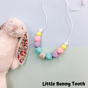 Silicone Teething Necklace - Khloe