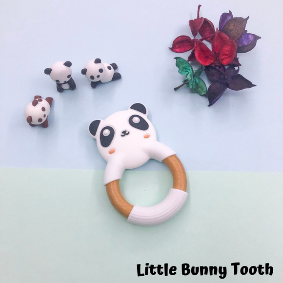 Panda Wooden Teether
