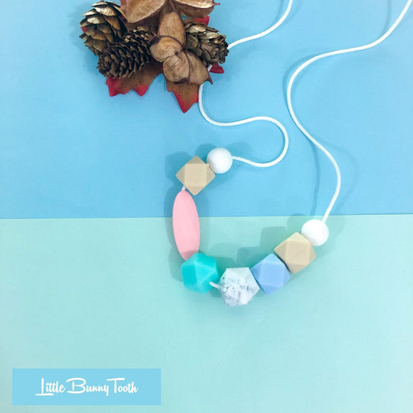 Silicone Teething Necklace - Sophia