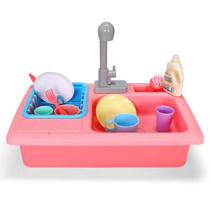 Simulate Kitchen Sink Playset