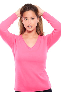 PALOMA PINK & PURPLE COLORS 100% CASHMERE 2ND GROUP