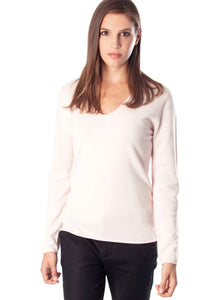 ECLIPSE V Neck Sweater plain color