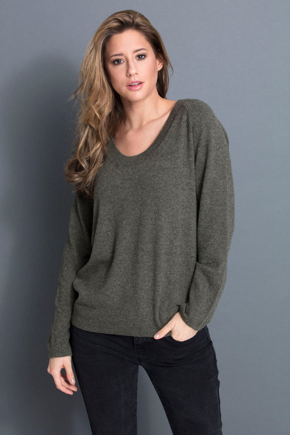 DEAUVILLE WOMEN SWEATER 100% CASHMERE