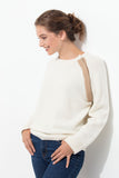 DECLIC WOMEN SWEATER 100% CASHMERE